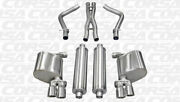 Corsa Dual Rear Cat-back Exhaust For 2011-2014 Dodge Charger Polished 14522