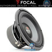 Focal 27v2 Sub 11 Fits 10 600w Dual 4-ohm Polyglass Subwoofer Clean Bass New