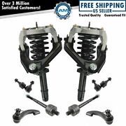 Strut And Coil Spring Control Arm Ball Joint Tie Rod Sway Bar Lh Rh Kit Set Of 10