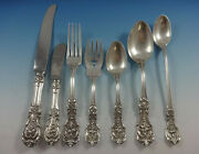 Francis I By Reed And Barton Sterling Silver Flatware Set For 8 Old Mark 60 Pieces