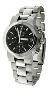 Oris Chronograph Automatic Black Dial Stainless Steel Menand039s Watch 7520-41