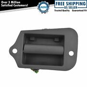 Metal Cargo Extended Cab 3rd Third Side Door Handle For Chevy S10 Pickup Upgrade