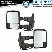 Mirror Power Fold Telescoping Heat Memory Signal Clearance Tow Pair For Ford