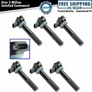 Delphi Gn10168 Engine Ignition Coil Kit 6 Piece Set Direct Fit For Acura Honda