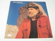 Willie Nelson Signed Autographed The Promiseland Record Album Jsa Coa