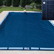 Buffalo Blizzard 25and039 X 45and039 Rectangle Swimming Pool Winter Cover-10 Year Warranty