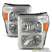 2011-2016 Ford F250 F350 F450 Super Duty Headlights Replacement 11-16 Headlamps
