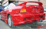 92-96 Honda Prelude 3pc Style Trunk Spoiler Rear Wing W/ Led Canada Usa Bb1