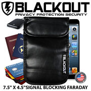 Faraday Cage Emp Bag Rfid Privacy Phone Size Blackout 7.5 X 4.5