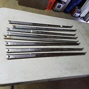1955 1956 1957 Chevy Nomad Safari Ss Side Window Trim Pass Side Upper Front