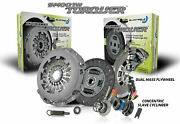 Blusteele Dual Mass Flywheel Clutch Kit For Holden Colorado Rg 2.8l Lwh And Slave