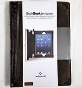 Twelve South Book Ipad Mini 1 23 Vintage Brown Leather Book Case Wand039stand New