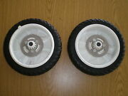 Oem Toro Lawnmower Rear Drive Personal Pace Wheels 8 105-3036 Set Of 2