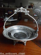 Victorian Bride Basket By E.g. Webster And Brother New York Silverplate[]