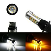 No Hyper Flash 42-smd 7440 Switchback Led Bulbs For Daytime Running/turn Signals