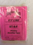 Airflo Shooting Taper Floating St-8-f Fly Fishing Line - 2 Lines Per Order