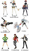 Figma Tv Anime Game Persona 3 4 Arena Actionfigure From Japan Aigis Metis Labrys