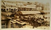 Vintage Antique Early Old Bermuda Elbow Beach Hotel Signs Streetscape Fine Photo