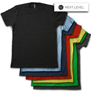 Next Level Apparel 3600 T-shirt - Soft Vintage Weight Blank Tee In All Colors