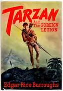 Tarzan And The Foreign Legion By Edgar Rice Burroughs First- High Grade