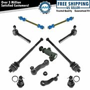 Tie Rod End Pitman Idler Arm Ball Joint Sway Link 11 Piece Suspension Kit Set