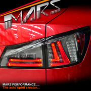 Full Smoked Led 3d Stripe Bar Tail Lights For Lexus Isf Is250 Is350 Gse20r 05-13