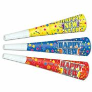 New Years Eve Party Supplies 9 Horns 10 Pack Paper New Years Party Favors
