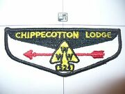 Oa Chippecotton Lodge 524,s-3,w/ Number,2 Per Life,camp Lyle,racine Council,wi