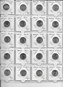 Usa State Quarters Dc And Us Territories 1999-2010 Collection Of 97 Different....