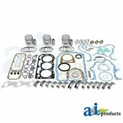 A-ok194 Made To Fit Ford Tractor Major Overhaul Kit 4000 4600 4610 4610su