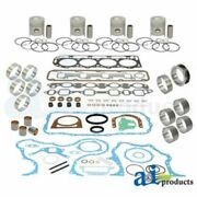A-ok195 Made To Fit Ford Tractor Major Overhaul Kit 5000 5600 5700