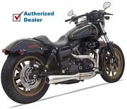 Bassani Road Rage 3 Exhaust 2 Into 1 Pipe Harley Dyna 1991-2017 Stainless Steel
