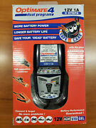 New Optimateandreg4 Intelligent Battery Charger Tester And Conditioner Free Us Ship