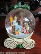 Disney Cinderella And Music Box Snowglobe Plays So This Is Love[aa]