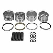 Aa Performance Products - Toyota 22r/22re Hypereutectic Piston Sets Oversize 1.0