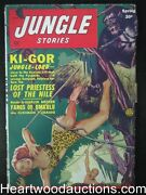 Jungle Stories Spring 1950 George Gross Ape Attack Cover