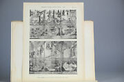Antique Ca1900 Prints Chinese Art Pl37-38 Ming Table Screen China Qing