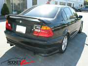 98-05 Bmw 3 Series E46 M-tech Style Raised Base Spoiler Wing 2dr 4dr Usa Canada