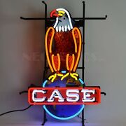 26 X 18 Neonetics Neon Case International Harvester Tractor Eagle Sign 5casee