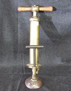 Antique Brass Beer Pump Tap Keg Tap With Wood Handles Ab530