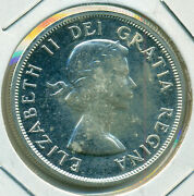 1963 Canada Silver Dollar, Choice Prooflike Brilliant Uncirculated, Great Price
