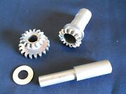 One 1 Lycoming Overhauled Prop Gov Drive Gear Kit 70384+70388+70389 W/8130