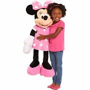 Disney Minnie Mouse 36 Soft Plush Pillow Pal-minnie Mouse Plush-new With Tags