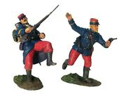 W Britain Soldiers 17820 French Infantry Command Set No 1 Wwi Collectible 1/30