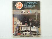 1975 Anderson-kittelson Parts And Accessories Catalog Chopper Mx Motocross L6271