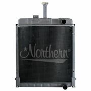 Made To Fit Ford New Holland Tractor Radiator 15 7/8 X 16 1/2 X 1 7/8 Sba310100