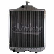 Made To Fit Ford New Holland Tractor Radiator 24 13/16 X 22 1/8 X 2 11/16 D5nn8