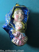 Madonna With Child, The Polonaise Ornament For Kurt Adler, Made In Poland Orig