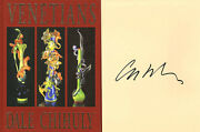Dale Chihuly Signed Autographed Venetians Famed Glass Sculptor Le 1st Ed/1st