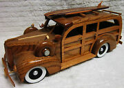 1941 Hand Carved Packard Woody Car
